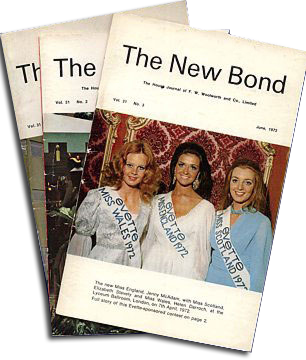The final slimline editions of the New Bond from the 1970s. It was replaced by a newspaper, the Woolworth News
