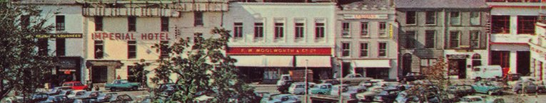 The F.W. Woolworth store in Eyre Square, Galway, Ireland