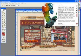 Tweaking website images in Adobe Photoshop (Creative Suite)