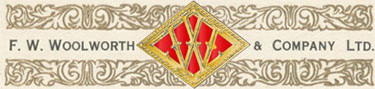 Ornate F. W. Woolworth & Co. Ltd. logo from a company document